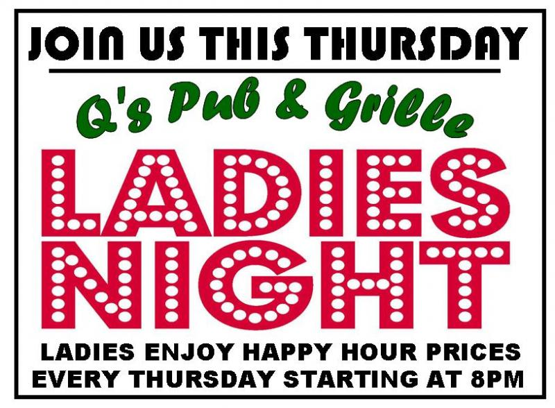 Ladies Night Q's Pub